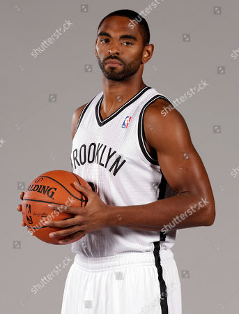 Alan Anderson Alan Anderson poses for photos during the Brooklyn Nets media day, at the Barclay's Center, in New York