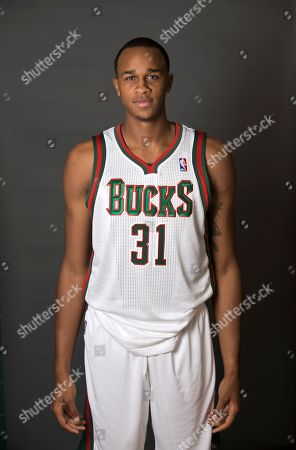 John Henson Milwaukee Bucks' John Henson poses for a picture during the team's media day, in St. Francis, Wis