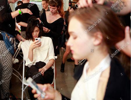 Editorial picture of Fashion EDUN Spring 2014, New York, USA