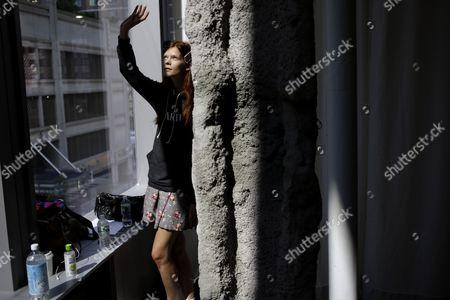Editorial photo of Fashion Proenza Schouler Spring 2014, New York, USA