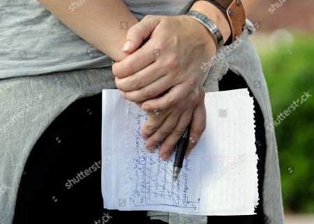 Kerry Cahill Kerry Cahill wears a remembrance bracelet and holds her notes as she talks about her father, Michael Cahill who was killed during the Fort Hood shootings, during a news conference outside the the Lawrence William Judicial Center following the sentencing phase for Maj. Nidal Hasan, in Fort Hood, Texas. The jury sentenced Hasan to death