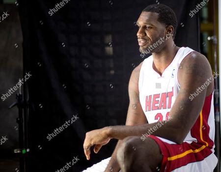 Editorial photo of Heat Media Day Basketball, Miami, USA