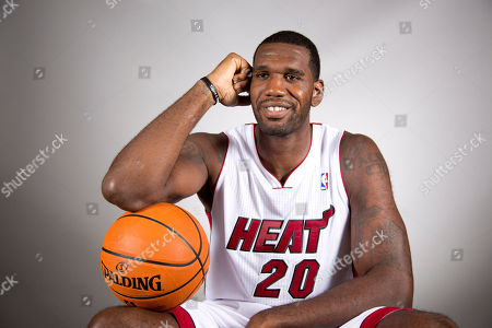 Editorial picture of Heat Media Day Basketball, Miami, USA