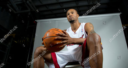 Stock Picture of Rashard Lewis Miami Heat player Rashard Lewis poses for photos during the team's media day, in Miami