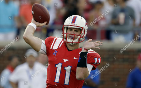 Garrett Gilbert SMU quarterback Garrett Gilbert throws a pass during the first half of an NCAA college football game against Texas Tech in Dallas. Four months after relaunching his sports agency, Leigh Steinberg has signed Gilbert as his first football client