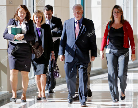 Peter Weir District attorney Peter Weir, second from right, and members of his staff leave the courtroom in Golden, Colo.,, where Austin Sigg, 18, plead guilty to killing 10-year-old Jessica Ridgeway in October 2012