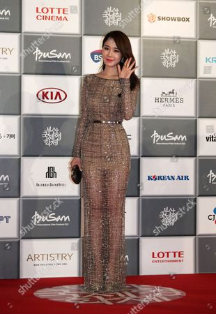 Yoo In-na South Korean actress Yoo In-na poses during the opening ceremony of the Busan International Film Festival at Busan Cinema Center in Busan, south of Seoul, South Korea