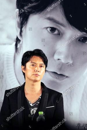 Japanese actor Masaharu Fukuyama attends an open talk during Busan International Film Festival at BIFF Village on Haeundae beach in Busan, South Korea