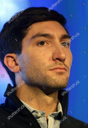 Evan Lysacek Olympic figure skating champion Evan Lysacek looks on during a press conference at the USOC 2013 team USA media summit, in Park City, Utah. Lysacek has a torn labrum, and will miss next month's Skate America. Lysacek was initially diagnosed with an abdominal tear after a fall in August. But he says he continued to feel pain, and further tests revealed the tear