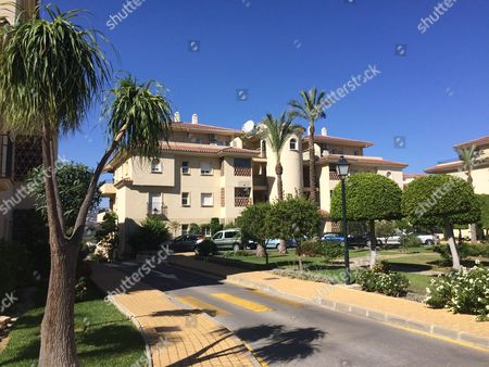 The Apartment Block In Marbella Where Freddie Starr Is Now Living In Tax Exile. 22.9.15.