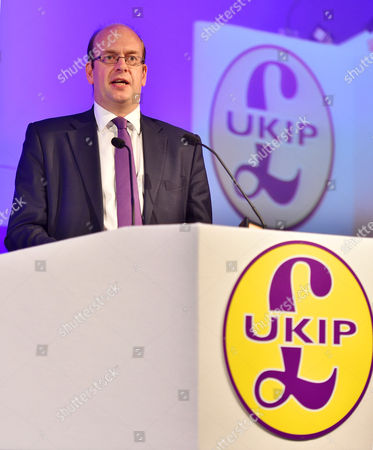Ukip Annual Conference At Doncaster Racecourse Doncaster South Yorkshire.- Ukip Economic Spokesman Mark Reckless.