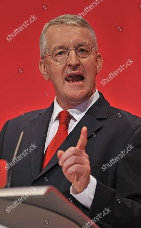 Shadow Foreign Sec Hillary Benn. Labour Party Annual Conference The Brighton Centre Brighton East Sussex.