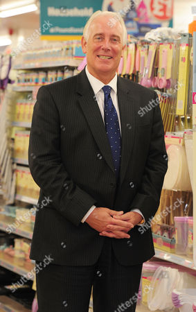 Editorial photo of Jim Mccarthy Ceo Of Poundland At The Fulham Store London.
