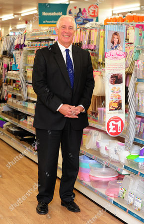 Jim Mccarthy Ceo Of Poundland At The Fulham Store London.