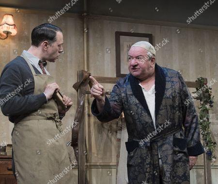 Reece Shearsmith as Norman, Ken Stott as Sir