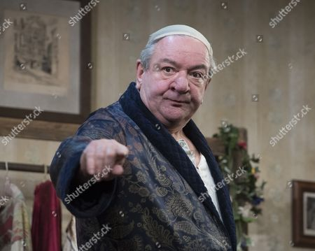 Editorial image of 'The Dresser' Play by Ronald Harwood performed at the Duke of York's Theatre, London,UK, 10 Oct 2016