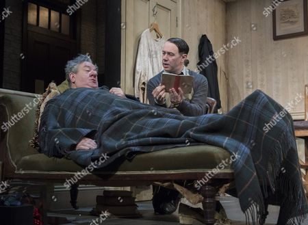 Editorial photo of 'The Dresser' Play by Ronald Harwood performed at the Duke of York's Theatre, London,UK, 10 Oct 2016