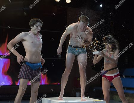 Alex Arnold as Robbie, Sam Spruell as Mark, Sophie Wu as LuLu