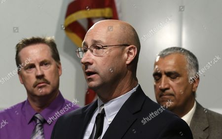 Phil Murphy, Sim Gill, John Lyons John Lyons, center, with the Homeland Security Investigations makes remarks as Lt. Phil Murphy, left, with the Utah County Major Crimes Task Force, and Sim Gill, Salt Lake County District Attorney, look on during a news conference, in Salt Lake City. Utah and Arizona law enforcement agencies have seized more than $8 million in heroin in other drugs after a joint sting operation that resulted in the arrests of 17 people