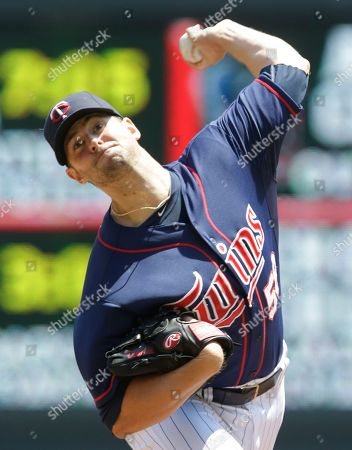 Scott Diamond Minnesota Twins pitcher Scott Diamond against the Cleveland Indians in the first inning of a baseball game, in Minneapolis