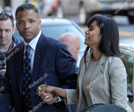 Jesse Jackson Jr., Sandra Jackson Former Illinois Rep. Jesse Jackson Jr. and his wife, Sandra, arrive at federal court in Washington, to learn their fates when a federal judge sentences the one-time power couple for misusing $750,000 in campaign money on everything from a gold-plated Rolex watch and mink capes to vacations and mounted elk heads. Jesse Jackson Jr.'s posessions _ including fur capes and Michael Jackson memorabilia _ go on the auction block Tuesday, Sept. 17, 2013, in an attempt to generate cash to pay his $750,000 fine for fundraising violations