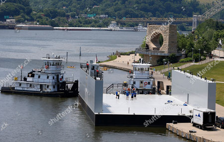 Editorial picture of New Tugboats, Pittsburgh, USA