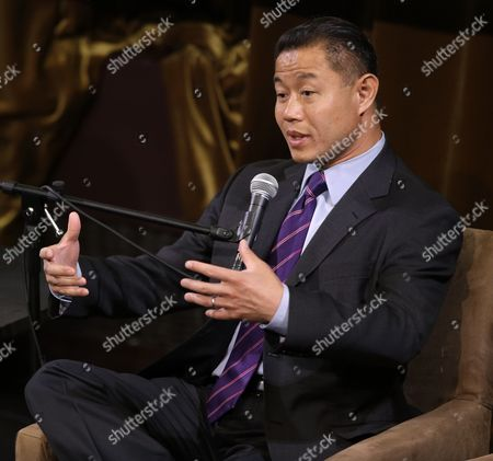 John Liu Democratic mayoral hopeful John Liu speaks at a candidate forum in New York, . The Democratic candidates for New York City mayor are holding their first debate Tuesday evening