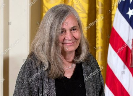 """Barack Obama, Marilynne Robinson Marilynne Robinson appears at a ceremony awarding her the 2012 National Humanities Medal for grace and intelligence in writing in the East Room of White House in Washington. Robinson, the acclaimed author of such novels as """"Gilead"""" and """"Housekeeping,"""" is this year's winner of the Library of Congress Prize for American Fiction, a lifetime achievement honor"""