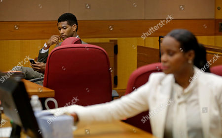 Usher, Tameka Foster Raymond R&B singer Usher, left, and ex-wife Tameka Foster Raymond, right, wait for a child custody hearing to begin, in Atlanta. A judge in Atlanta is set to hear arguments in the child custody battle between Usher and his ex-wife. Tameka Foster Raymond requested the hearing earlier this week after the former couple's son got caught in a pool drain while in the care of the Grammy winner's aunt