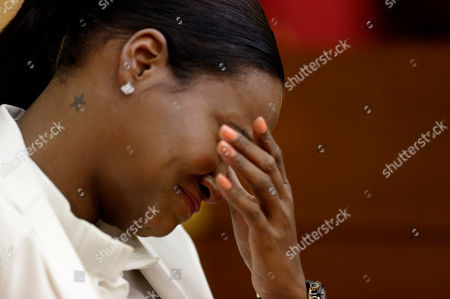 Tameka Foster Raymond Tameka Foster Raymond, reacts during the playing of a 911 tape from when her son got caught in a pool drain during a child custody hearing with her ex-husband, R&B singer Usher, in Atlanta. A judge in Atlanta is set to hear arguments in the child custody battle between Usher and his ex-wife. Tameka Foster Raymond requested the hearing earlier this week after the former couple's son got caught in a pool drain while in the care of the Grammy winner's aunt