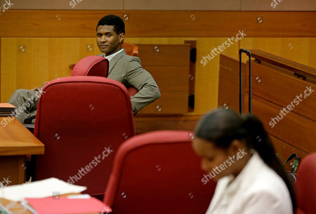 Usher, Tameka Foster Raymond R&B singer Usher, left, and his ex-wife Tameka Foster Raymond wait for a child custody hearing to begin, in Atlanta. A judge in Atlanta is set to hear arguments in the child custody battle between Usher and his ex-wife. Tameka Foster Raymond requested the hearing earlier this week after the former couple's son got caught in a pool drain while in the care of the Grammy winner's aunt