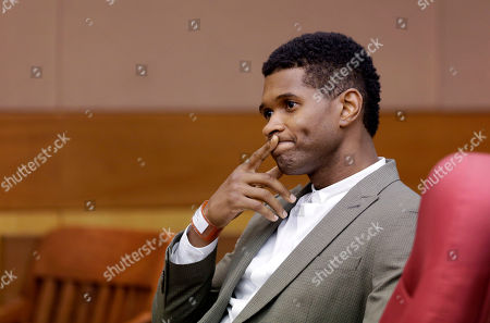 Usher R&B singer Usher waits for a child custody hearing to begin, in Atlanta. A judge in Atlanta is set to hear arguments in the child custody battle between Usher and his ex-wife Tameka Foster Raymond, who requested the hearing earlier this week after the former couple's son got caught in a pool drain while in the care of Usher's aunt