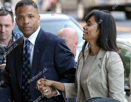 Stock Picture of Jesse Jackson Jr., Sandra Jackson Former Illinois Rep. Jesse Jackson Jr. and his wife, Sandi, arrive at federal court in Washington. The U.S. Bureau of Prisons says 52-year-old Sandi Jackson reported to Federal Prison Camp Alderson in West Virginia Tuesday, Oct. 20,2015. She is serving a one-year sentence on a conviction related to $750,000 in spending of her husband's campaign money on everything from fur capes to vacations. The former Chicago city councilwoman, a Democrat, reported one month after her husband completed his 2 ½ year sentence