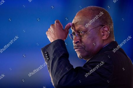 Herman Cain Herman Cain gestures as he speaks during the Faith and Freedom Coalition Road to Majority 2013 conference, in Washington
