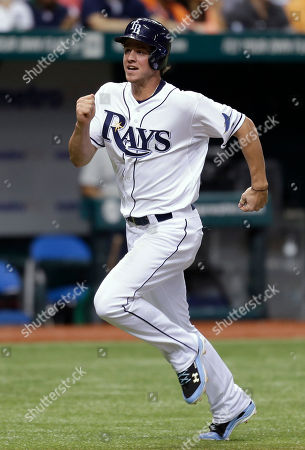 Wil Myers Tampa Bay Rays' Wil Myers races home to score on a seventh-inning RBI double by teammate Luke Scott off Detroit Tigers starting pitcher Max Scherzer during a baseball game, in St. Petersburg, Fla
