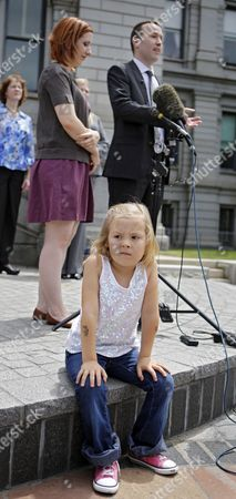 Cory Mathis, Kathryn Mathis, Michael Silverman Six-year-old transgender girl Coy Mathis sits in the foreground as her attorney Michael Silverman and her mother Kathryn Mathis respond to questions at a news conference at the Capitol in Denver on . The Colorado Civil Rights Division has ruled in favor of Coy Mathis, whose school had barred her from using the girls' bathroom at her elementary school because she is transgender