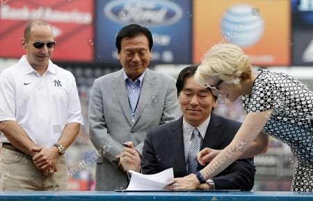 Editorial image of Yankees Baseball Matsui Retirement, New York, USA