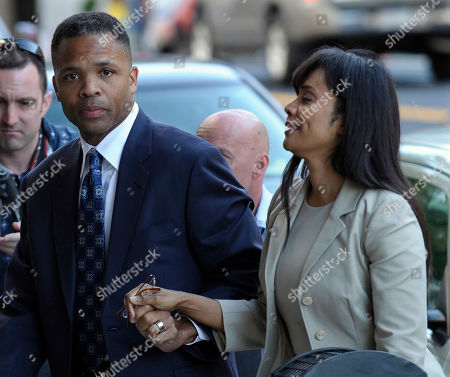 Jesse Jackson Jr., Sandra Jackson Former Illinois Rep. Jesse Jackson Jr. and his wife, Sandra, arrive at federal court in Washington, to learn their fates when a federal judge sentences the one-time power couple for misusing $750,000 in campaign money on everything from a gold-plated Rolex watch and mink capes to vacations and mounted elk heads