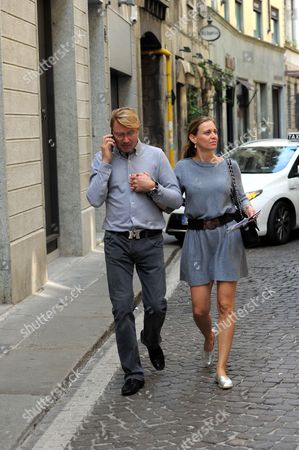 Editorial picture of Mika Hakkinen out and about, Milan, Italy - 30 Sep 2016
