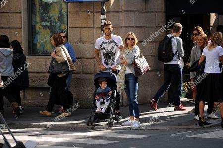 Stock Photo of Ricky Alvarez and family