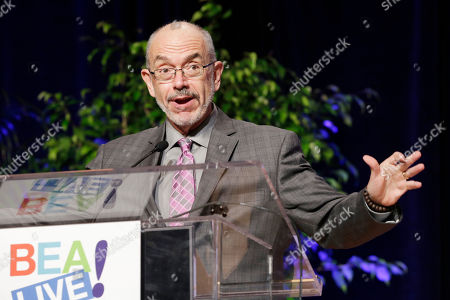 """Wally Lamb Author Wally Lamb speaks at Book Expo America, in New York. Lamb's latest novel, """"We Are Water,"""" will be released in November"""