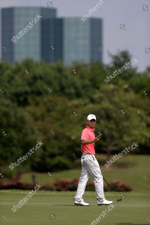 Guan Tianglang Amateur Guan Tianlang, 14, of China during the first round of the Byron Nelson Championship golf tournament, in Irving, Texas