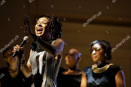 Siedah Garrett Siedah Garrett performs during an event to honor singer-songwriter Carole King with the Gershwin Prize for Popular Song, at the Library of Congress, in Washington