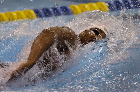 Cullen Jones Cullen Jones competes a men's 100m freestyle preliminary heat during the Arena Grand Prix swimming meet in Charlotte, N.C