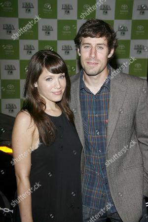 Marla Sokoloff and Josh Cooke