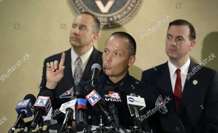 Mike Powell, Mike Winder, Wayne Pyle West Valley City Deputy Police Chief Mike Powell, center, makes remarks during a news conference, while West Valley City Mayor Mike Winder, right, and West Valley City Manager Wayne Pyle, left, look, in West Valley City, Utah. Citing a lack of leads, a police agency said Monday that it is closing the active investigation of the disappearance of Susan Powell, a Utah mother whose now-dead husband was a prime suspect