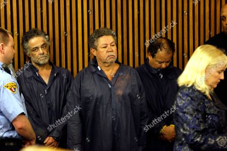 Ariel Castro Onil Castro, left, Pedro Castro, center, and Ariel Castro, right, wait for their arraignment at Cleveland Municipal Court in Cleveland, Ohio