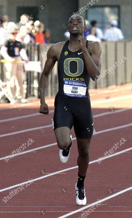 Mike Berry Mike Berry, from Oregon, competes in a 400 meter semifinal race during the NCAA Track and Field Championships in Eugene, Ore., . Berry missed qualifying by .004 seconds
