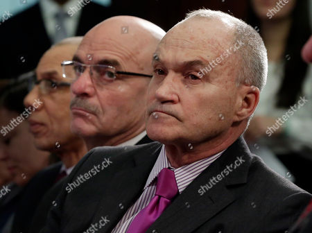 Dennis Walcott, Salvatore Cassano, Ray Kelly New York City's School Chancellor Dennis M. Walcott, left, Fire Commissioner Salvatore Cassano, center, and Police Commissioner Ray Kelly, listen as New York Mayor Michael Bloomberg delivers the 2014 city budget in the Blue Room of New York's City Hall, . Bloomberg presented the budget for the fiscal year of 2014, the last one of his tenure. The presentation is just the beginning of a long negotiation process with the City Council and other stakeholders