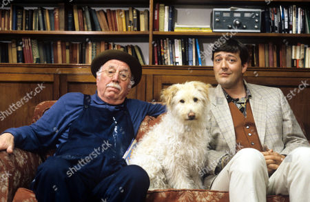 Lionel Jeffries and Stephen Fry in 'Woof' - 1993